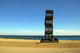 Beaching in Barcelona - feature photo