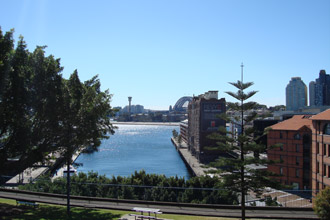 View from Point Street, Pyrmont - feature photo