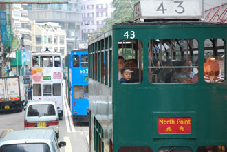 Wooden Double Decker Trams - feature photo