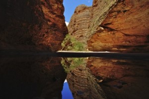 Beauty of a Cathedral Gorge, Bungle Bungles Range, Purnululu National Park in Kimberly region, Western Australia